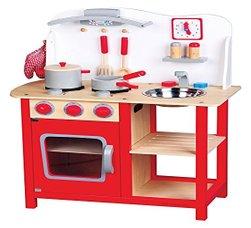 New Classic Toys Kinderküche Holz Mit Kinderküchen Zubehör
